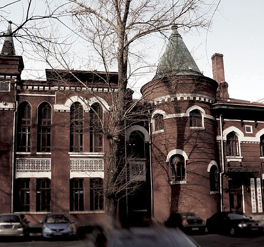 图说哈尔滨老建筑―中世纪寨堡式建筑 - wzx501214 - 天鹅项下的珍珠